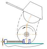 Станок абразивно-отрезной маятниковый СОМ–400Б